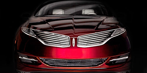 Designers Party The New 2013 Lincoln Mkz Concept Luxury Sedan