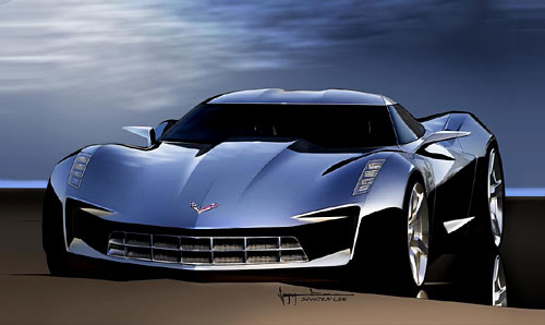 Corvette stingray concept cars